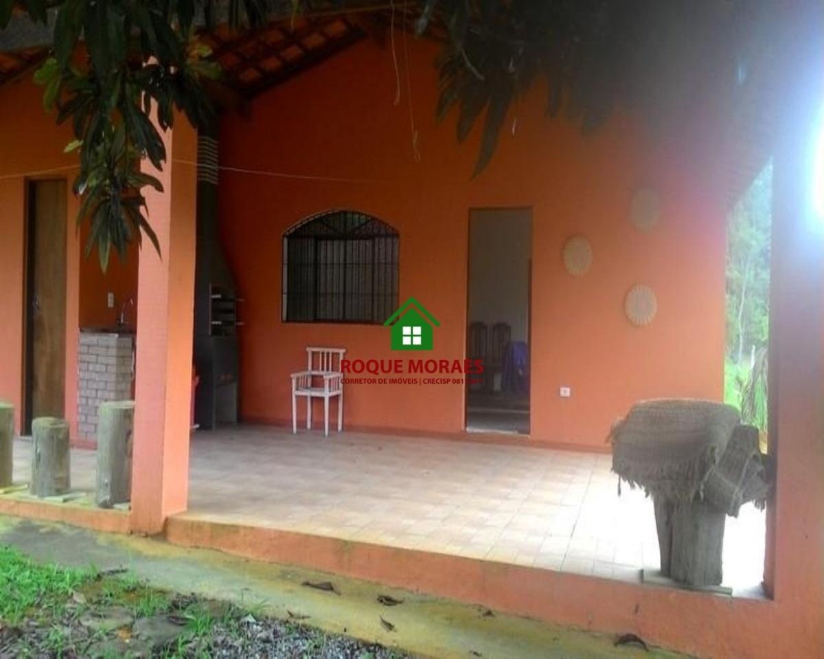 chácara em juquitiba c/3 dorm próximo aos comércios ref0041