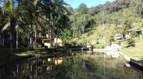 chácara em juquitiba com 1 alqueire rico em água 3 lagos