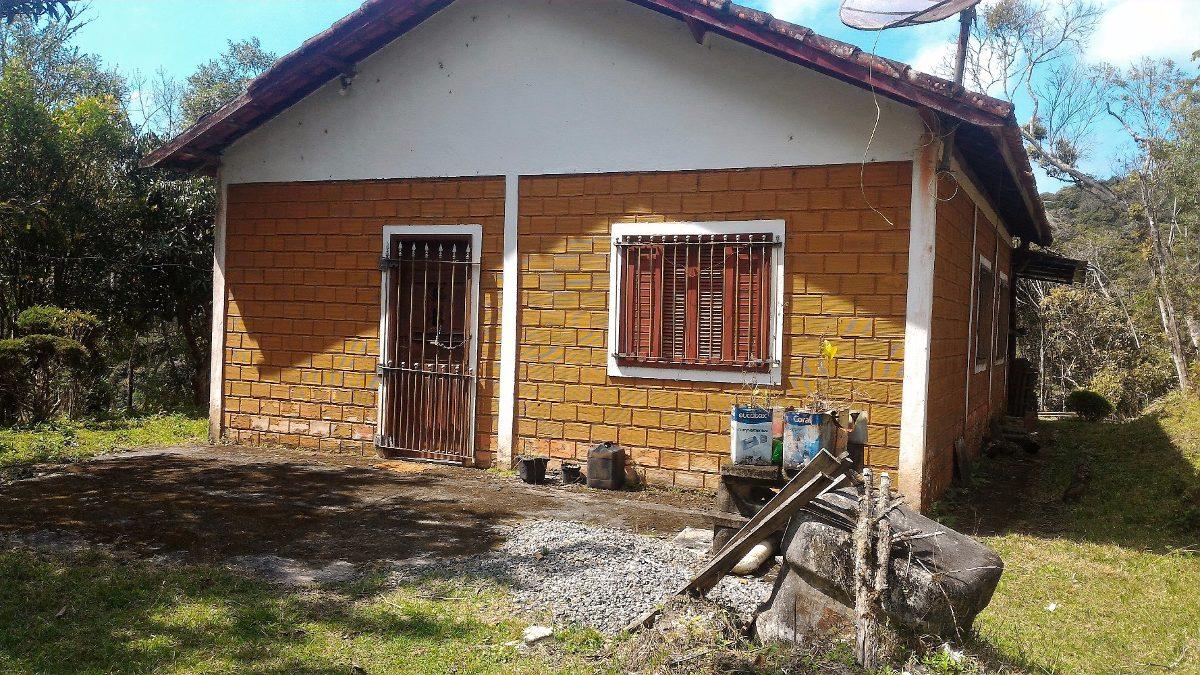 chácara em juquitiba com 2 casas com lago