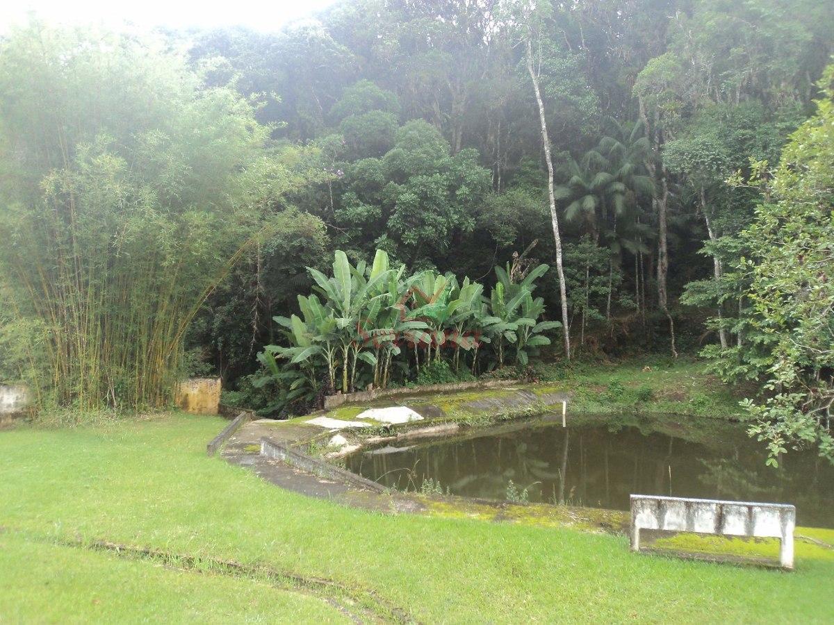 chácara em juquitiba com 20.000 m² com lago