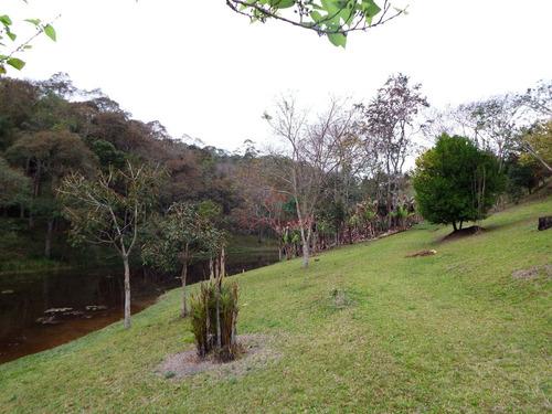 chácara em juquitiba com 22.000 m² e belo lago