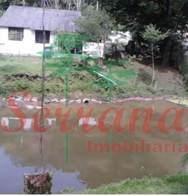 chácara em juquitiba com chalé e lago bem localizado