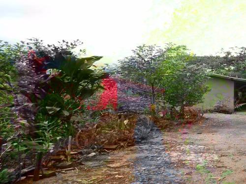 chácara em juquitiba com espaço para plantação