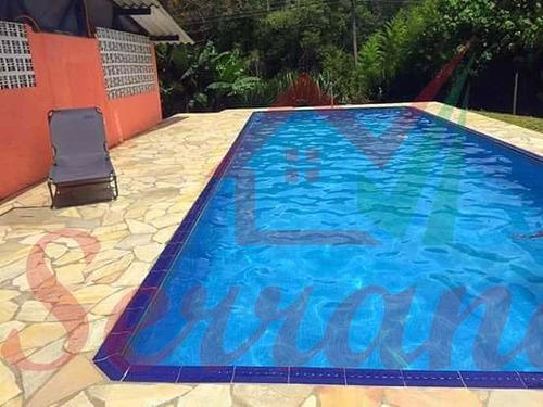 chácara em juquitiba com lago, piscina churrasqueira