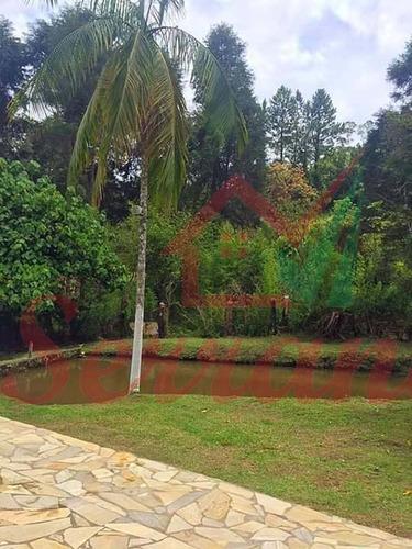 chácara em juquitiba com lago piscina estuda proposta