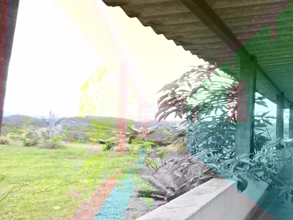 chácara em juquitiba com maravilhosa vista panorâmica