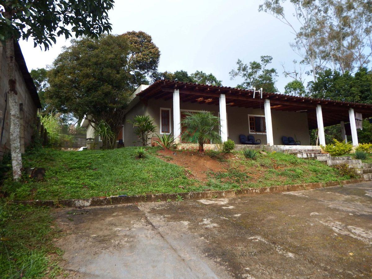 chácara em juquitiba com ótima casa próximo a lago