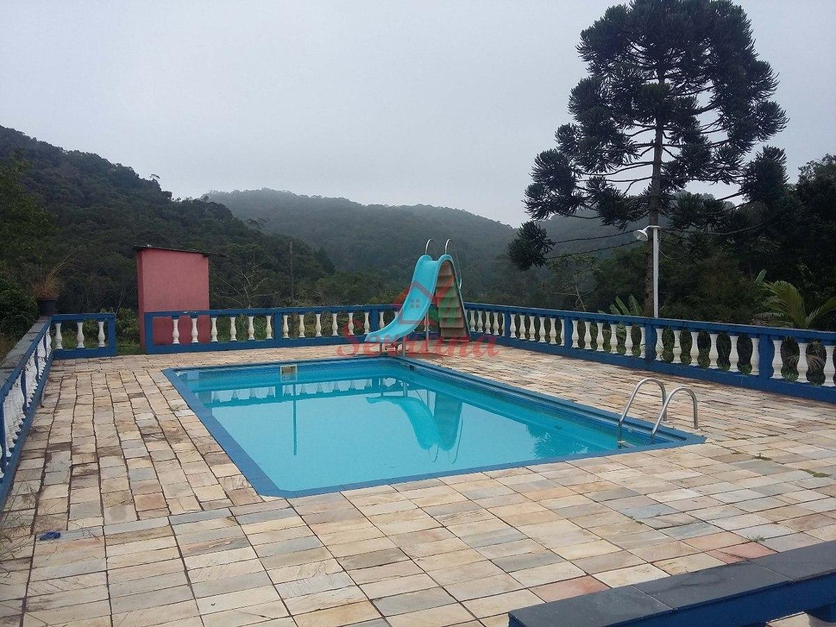 chácara em juquitiba com piscina e 2 lagos
