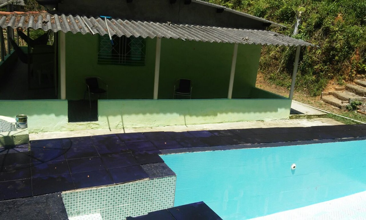 chácara em juquitiba com piscina lago c água de nascente