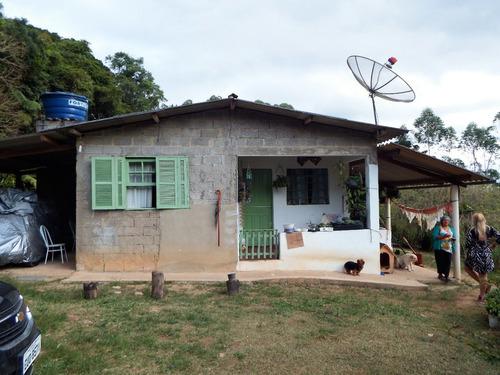 chácara em juquitiba com pomar e 2 casas