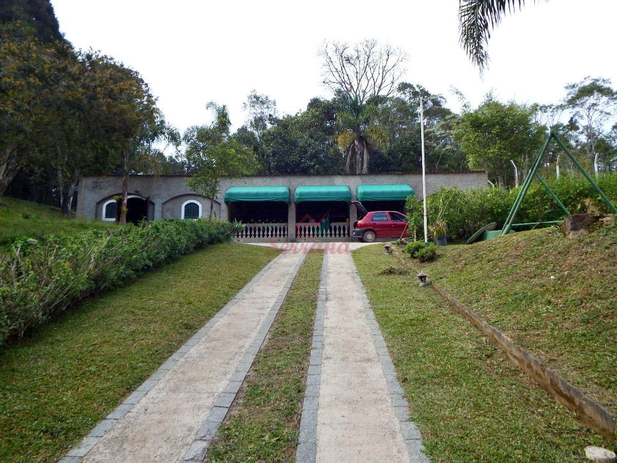 chácara em juquitiba excelente localização c salão de festas