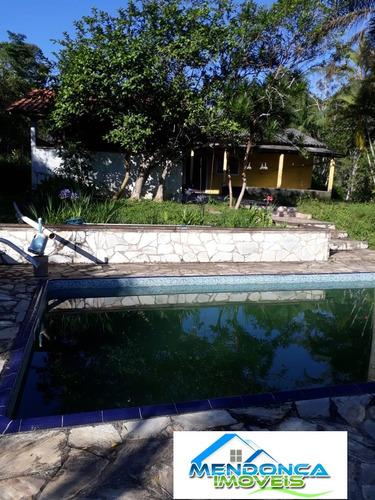 chácara em juquitiba- sp - 30.000,00 m² com piscina e lago