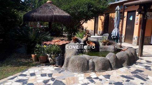 chácara em são josé a venda, 2765 m² por são josé do imbassaí - maricá/rj - ch0063