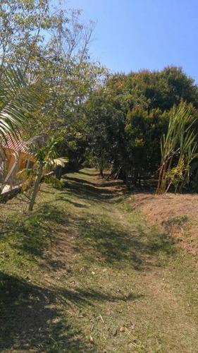 chácara em zona rural, santa branca/sp de 90m² 2 quartos à venda por r$ 380.000,00 - ch178081