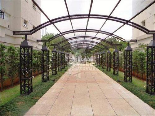 chacara flora - cobertura duplex - 4 dorms/4 stes/5 vagas - co0030