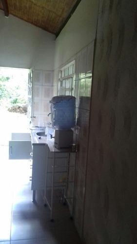 chacara ibiúna 1.000 mts casa, piscina, riacho a/c caminhão