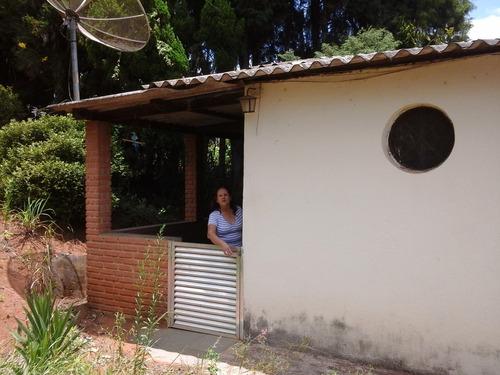 chácara ibiúna 1.200 mts casa, frente asfalto, oportunidade!