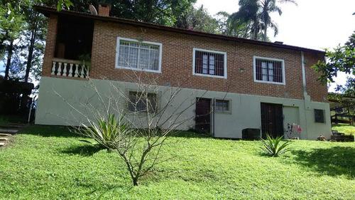 chácara ibiúna 12.000m casa sede, casa caseiro, lago e campo