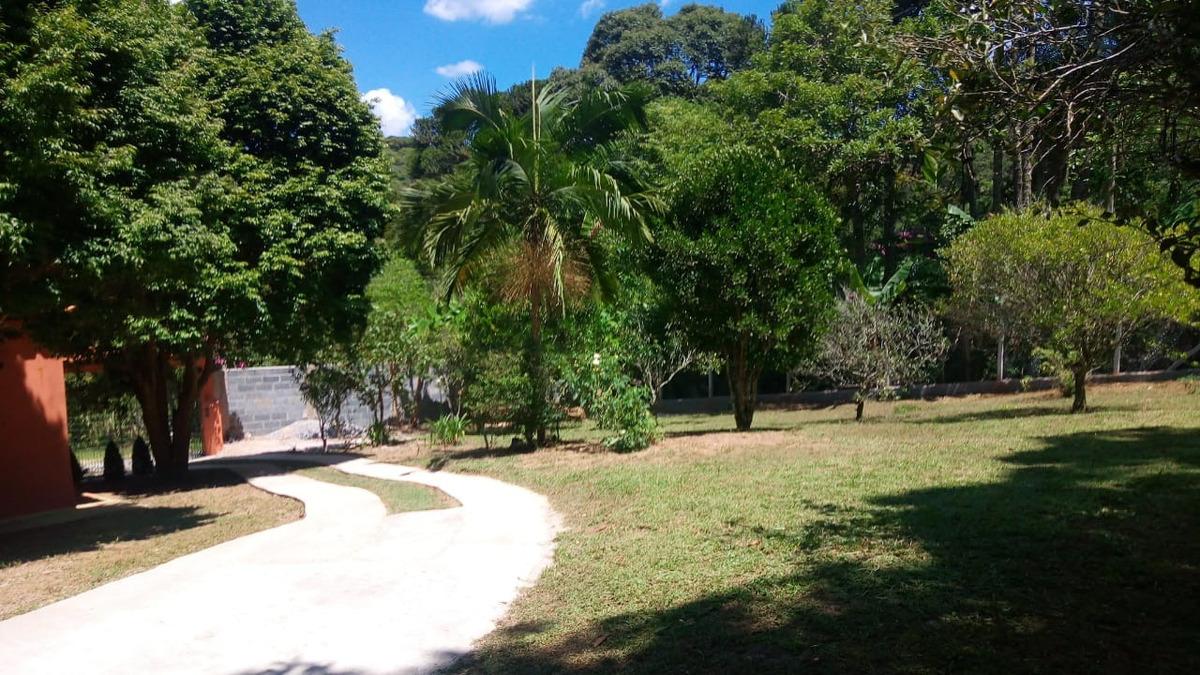 chácara ibiúna 1.300 mts casa, pomar, local tranquilo!!!!!