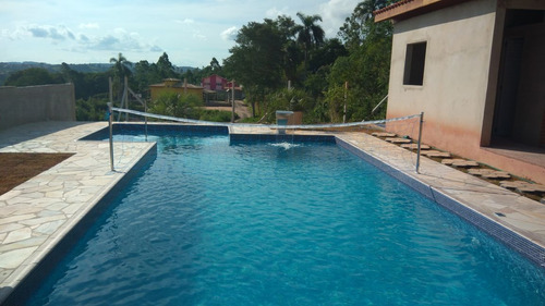 chácara ibiúna 800 mts edicula, piscina ótima localização !!