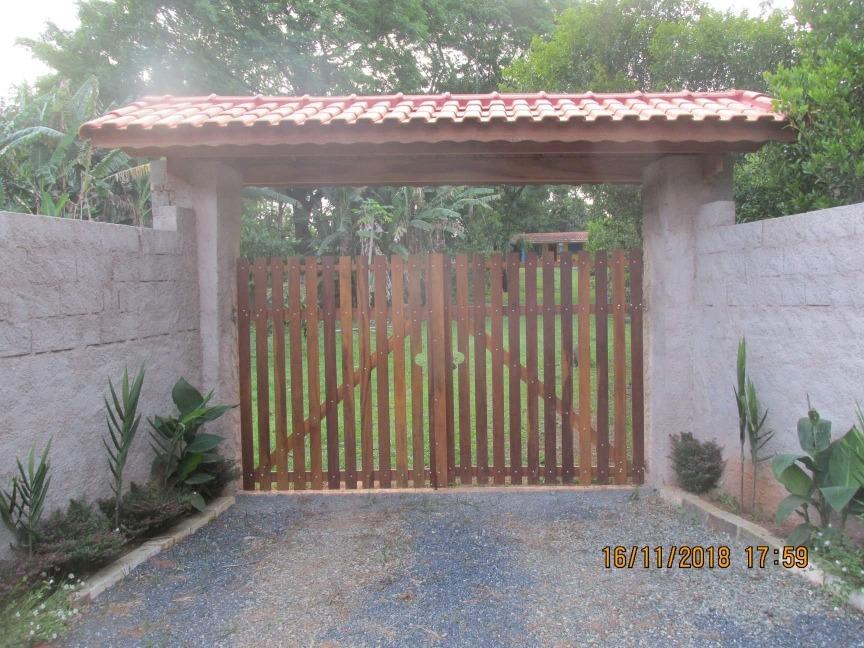 chácara ibiúna sp 1.400 mts casa, murada, boa localização!!!