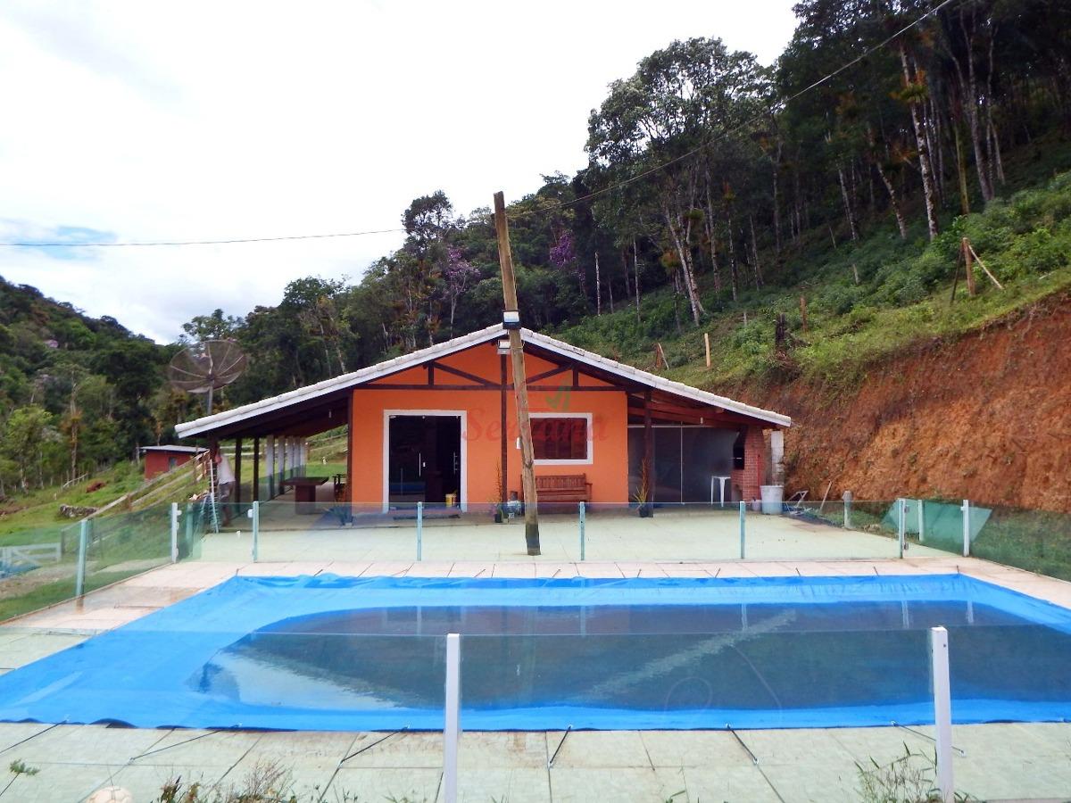 chácara ideal para criação em juquitiba com lago