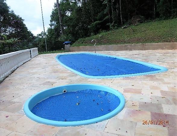 chácara ideal para lazer com piscina e área de churrasqueira