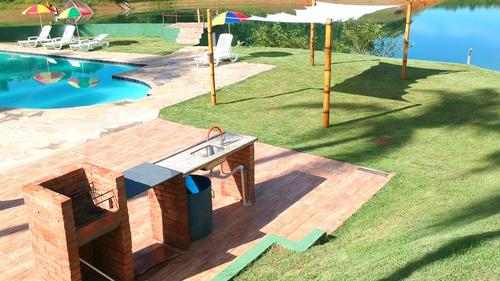 chácara igaratá piscina, rampa para jet / barco, pé na água