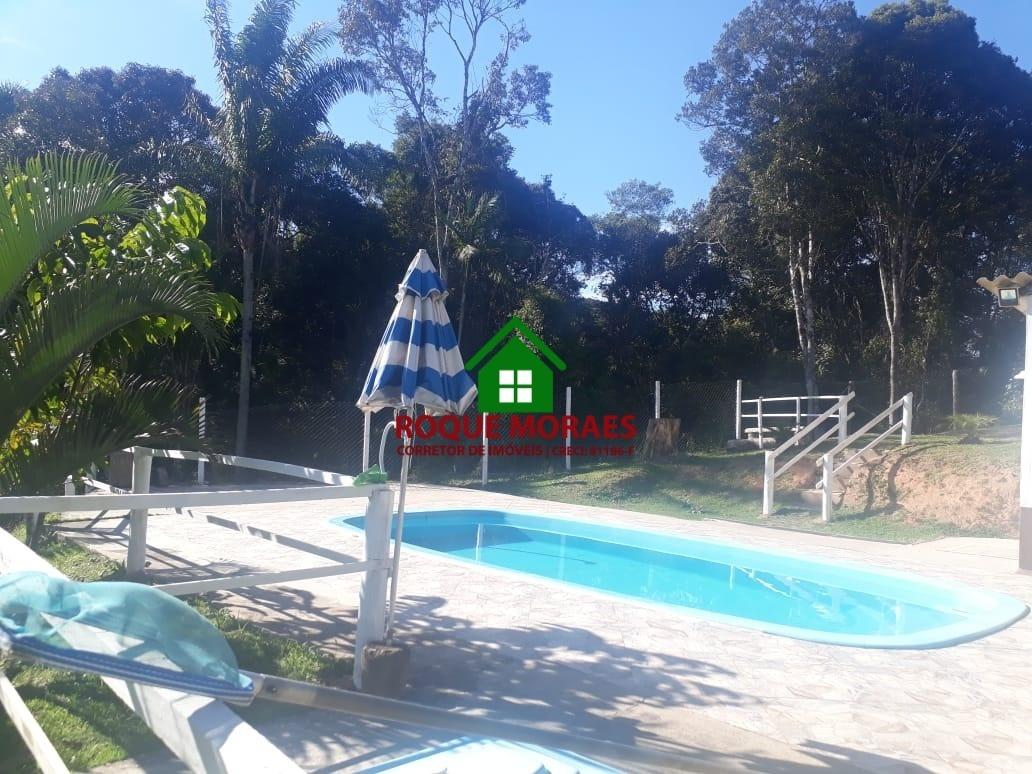 chácara juquitiba 20000m², piscina, rio e cachoeira ref:0122