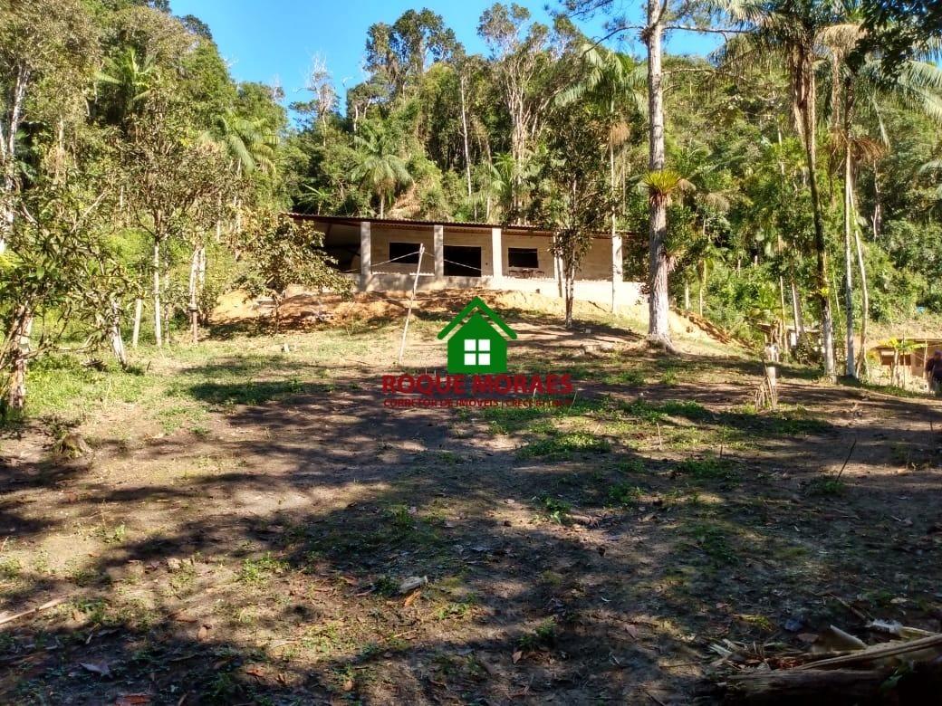chácara juquitiba 4.000m² casa em construção ref: 0089