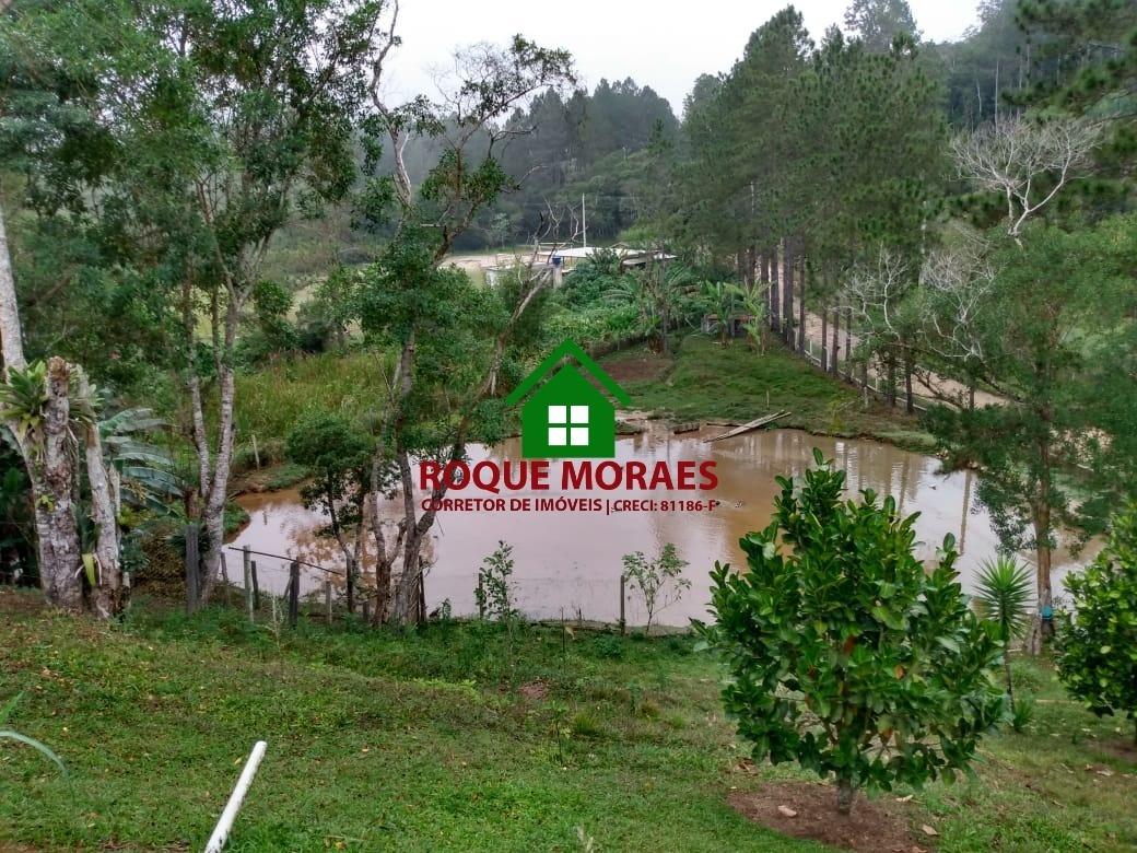 chácara juquitiba 9.800m², piscina, lago, horta. ref:0106