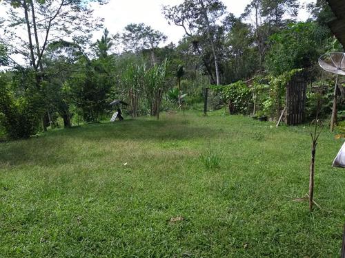 chácara- juquitiba/ plantações/ nascente. ref.: 0019