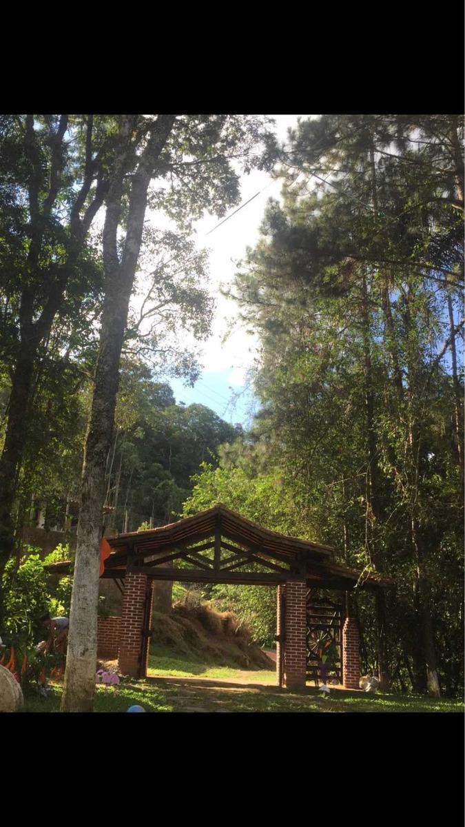 chácara linda com cachoeira no quintal em nazaré paulista