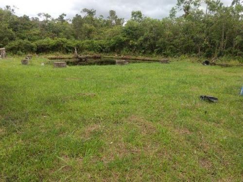 chácara mobiliada - fogão a lenha, lago e poço (parcela)