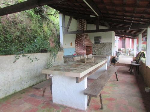 chácara moradia, piscina cascata/permuta peruíbe/refe:04609