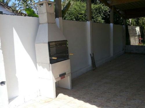 chácara murada com 2 dormitórios, itanhaém - ref 4318-p
