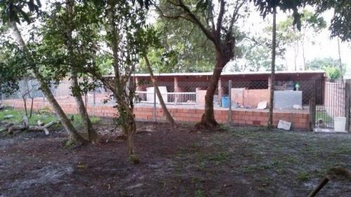 chácara murada no bairro tanisio, em itanhaém