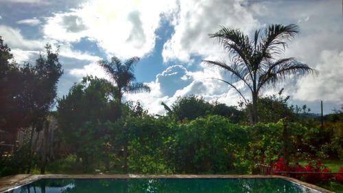 chácara murundu com piscina