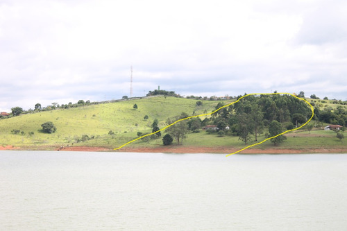 chácara na represa  pé na água  com 17.500 m²  /  ch-132