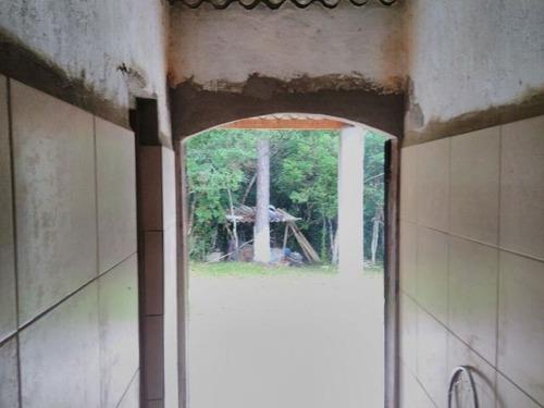 chácara no balneário gaivota, em itanhaém 8 km da rodovia