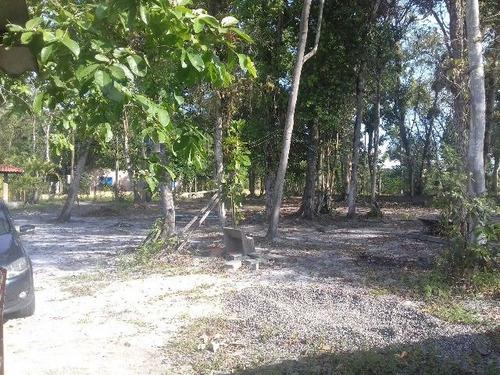 chácara no parque real, em itanhaém, litoral - ref 3500