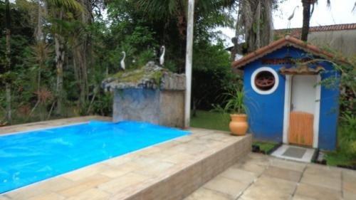 chácara no são fernando, itanhaém, com piscina - ref 3967-p