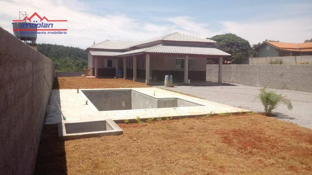 chácara nova á venda em atibaia - bairro caioçara - 420 mil com piscina - ch0171
