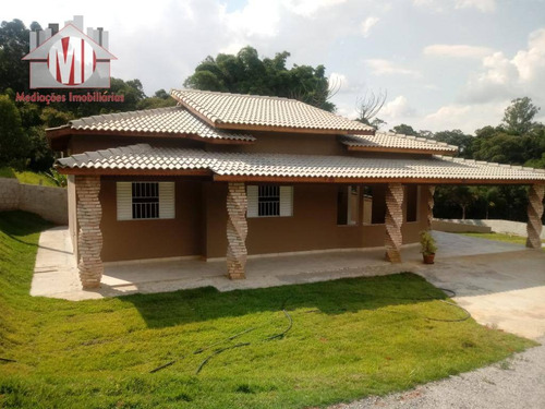 chácara nova com 03 dormitórios à venda, 1300 m² por r$ 350.000 - zona rural - pinhalzinho/sp - ch0298