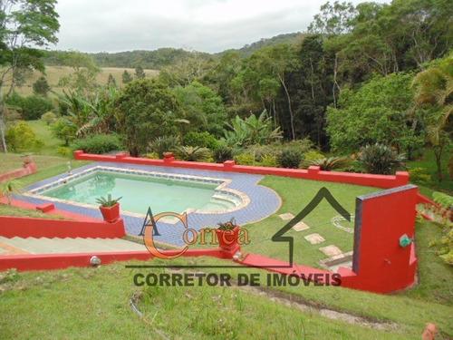 chacara padrão em juquitiba sp com piscina