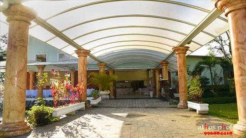 chácara para festas em embu guaçu, essência palace - cód 291
