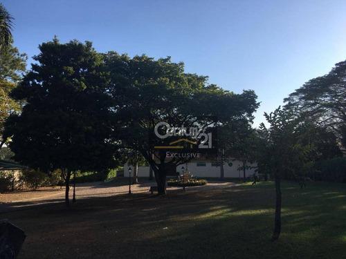 chácara para locação com 10000 m² por r$ 10.000/mês - chácara areal - indaiatuba/sp - ch0024