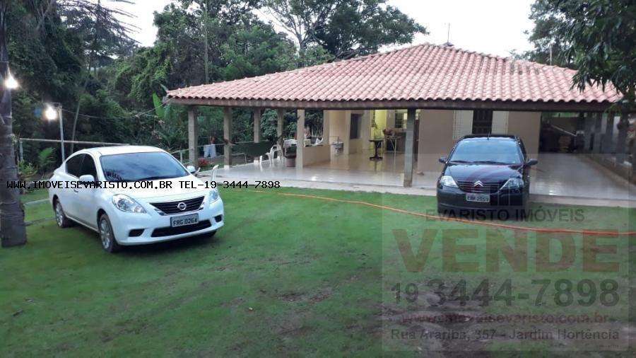 chácara para venda em limeira, pinhal, 2 dormitórios, 1 suíte, 2 banheiros, 5 vagas - 3088_1-1290344