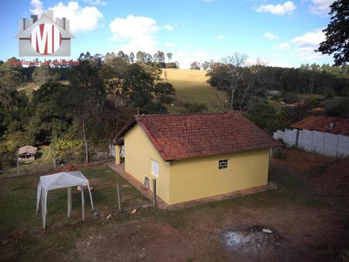 chácara pertinho da cidade, linda vista, 02 dormitórios à venda por r$ 210.000 em pedra bela/sp - ch0467