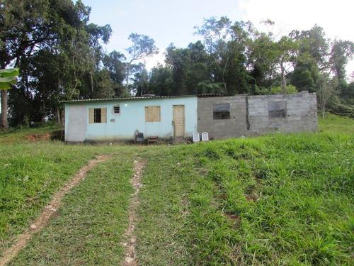 chácara p/moradia, casa simples/pomar/gramada/ref: 04691